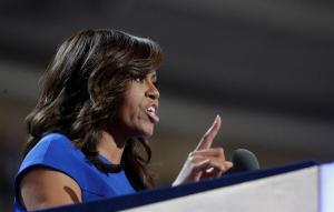 Michelle Obama: 'Me levanto en una casa que fue construida por esclavos'