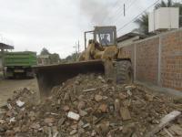 300 casas tienen afectaciones en Tosagua