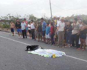 Mujer muere al ser atropellada en la vía Tosagua-Rocafuerte