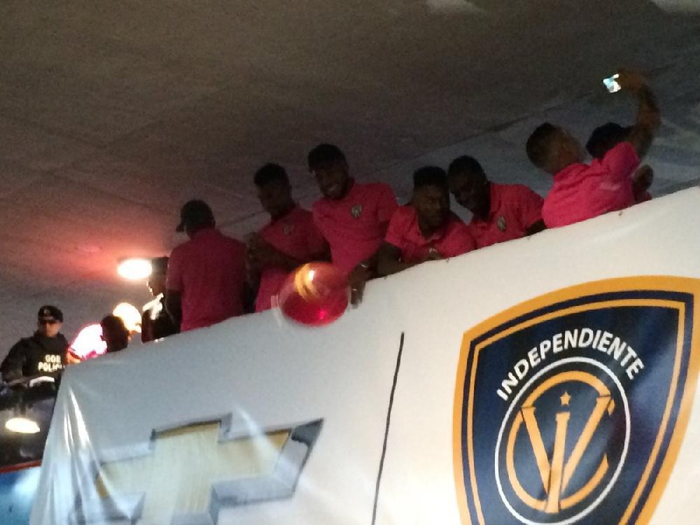 Arriban al país jugadores de Independiente del Valle