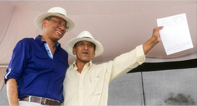 289.000 dólares en créditos para los productores de maíz en Manabí
