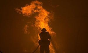 Incendian una iglesia evangélica en el sur de Chile