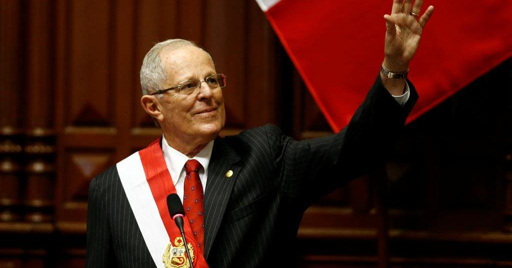 Pedro Pablo Kuzcynski toma posesión como nuevo presidente de Perú