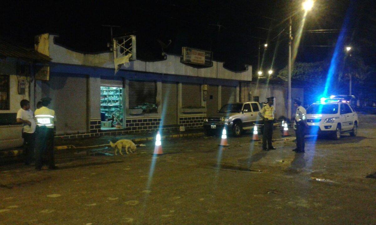 Atentado con explosivos provoca alarma en ciudad de Sucumbíos