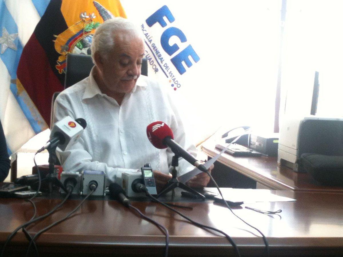 Panamá confirma que fiscal Chiriboga no tiene cuentas bancarias en ese país