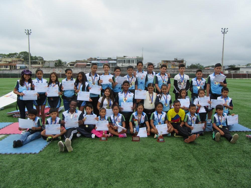 Nadadores se lucieron en Colombia