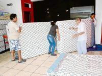 """Empezó tarea de limpieza en hoteles de la """"zona cero"""""""
