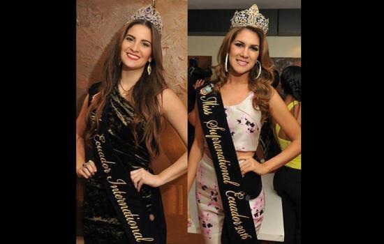Bianka Fuentes se queda sin el título de Miss Ecuador Internacional 2016