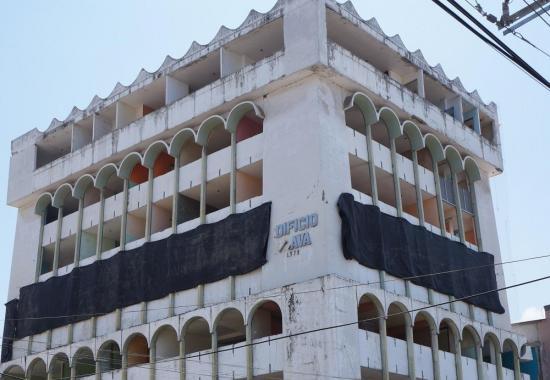 40 kilos de explosivos utilizarán para demoler el edificio Álava