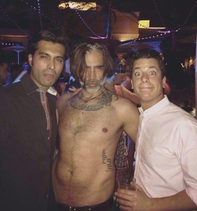 Aparece un vídeo de Alejandro Fernández durante la fiesta en Las Vegas