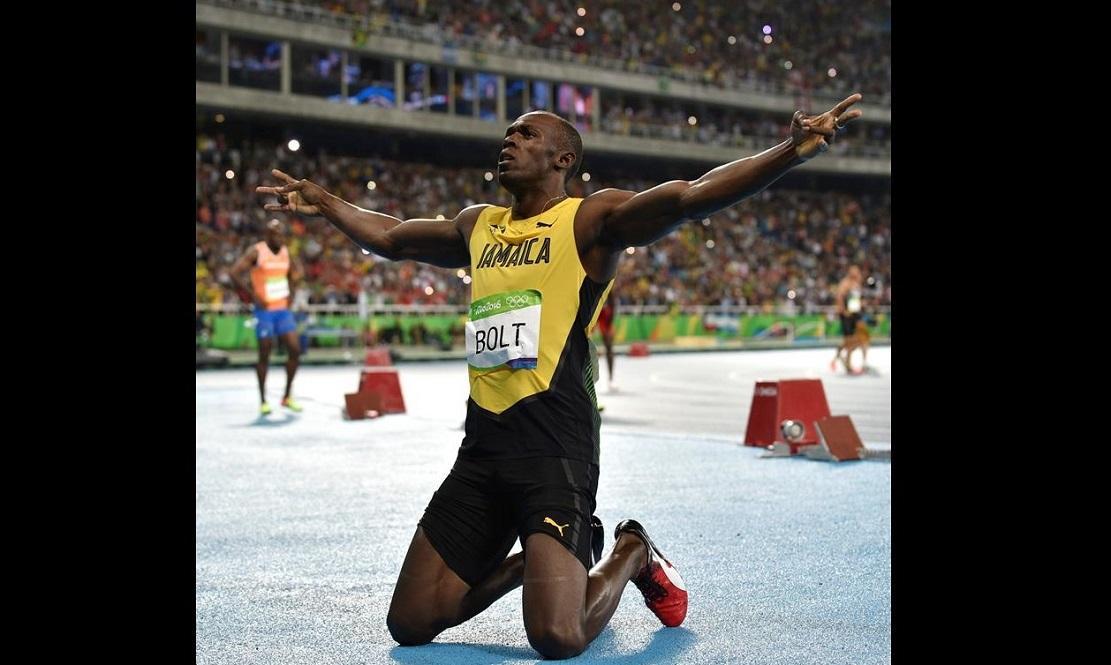 Usain Bolt quiere ser 'uno de los más grandes, estar junto a Ali y Pelé'