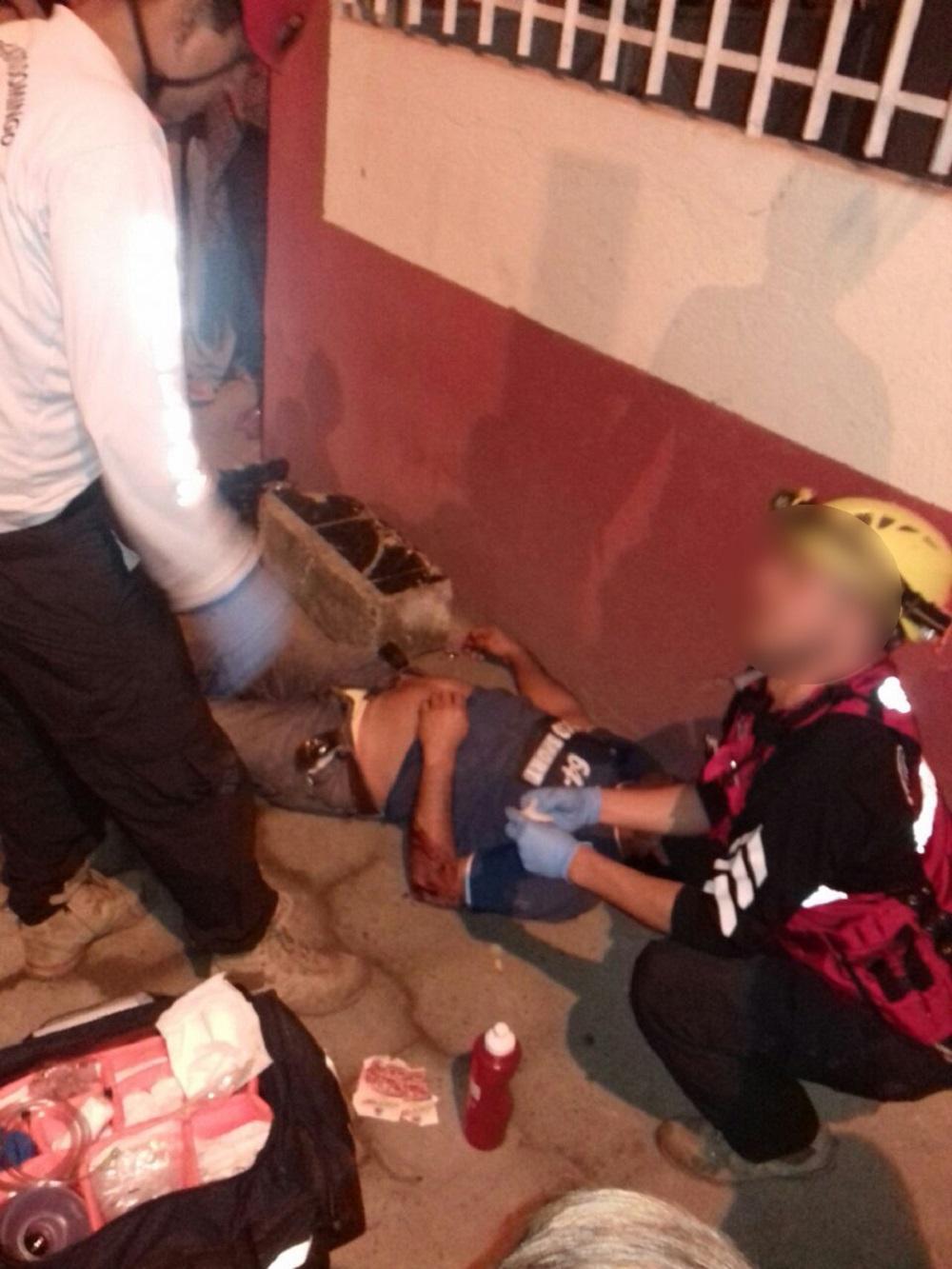Hombre en estado etílico resultó herido