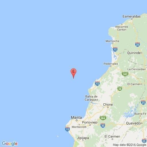 2.425 réplicas se han registrado después el terremoto del 16 de abril