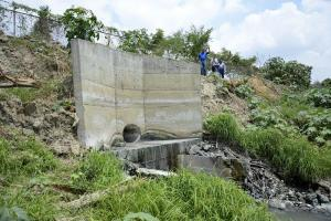 Solución provisional a descarga de aguas servidas al río Portoviejo
