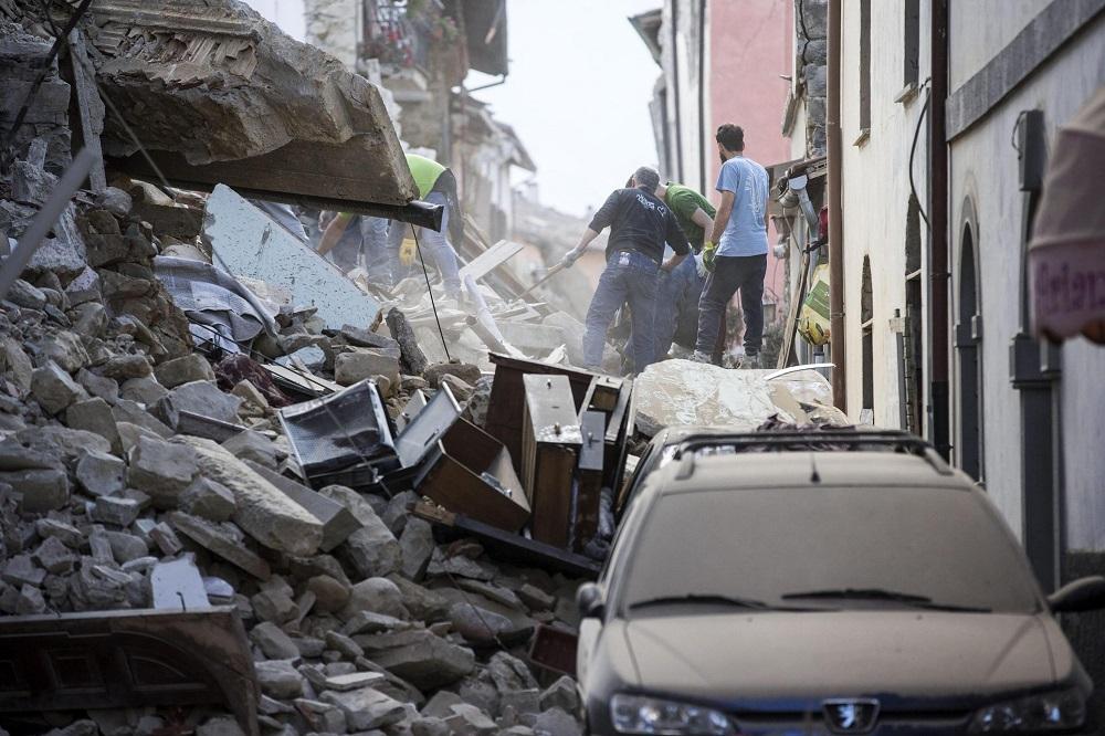 La devastación tras el terremoto en Italia en fotos