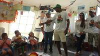 """""""Tin"""" visitó proyecto de ONG plan internacional"""