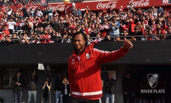 Arturo Mina en una nueva final pero esta vez con el River Plate de Argentina