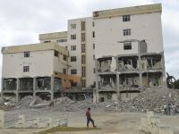 Analizan cómo será demolido el hospital de Chone