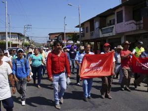 Organizaciones protestan en las calles