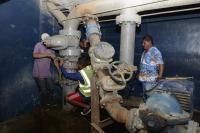 Reparan daños y restablecen el servicio de agua potable