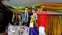 María Elena Soria es la nueva reina de la parroquia rural Puerto Limón