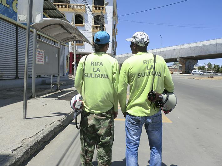 """Rifa """"La Sultana"""" vuelve a las calles"""