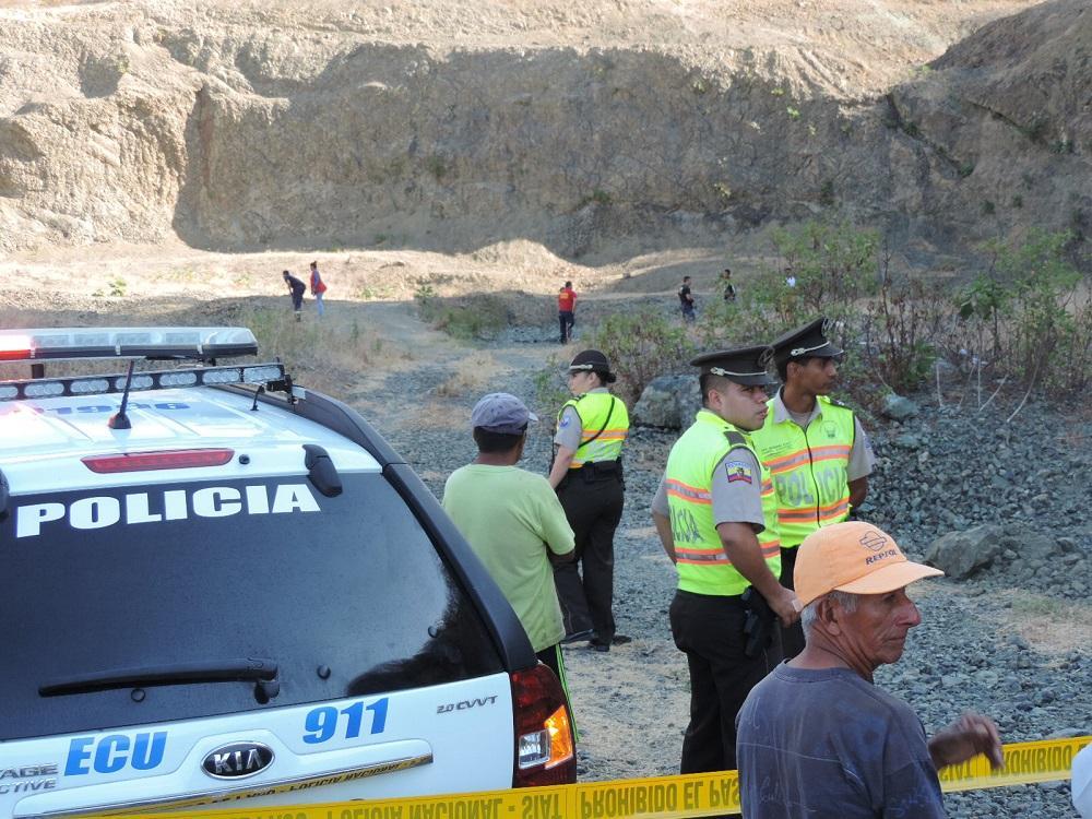 Dirigente de parroquia manabita muere ahogado