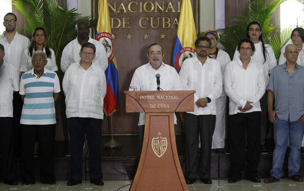 Timochenko declara el alto al fuego definitivo en Colombia