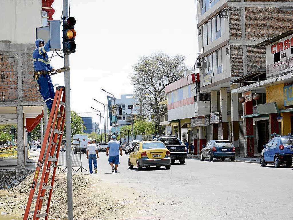 En enero iniciarían el soterramiento en la zona cero de Portoviejo