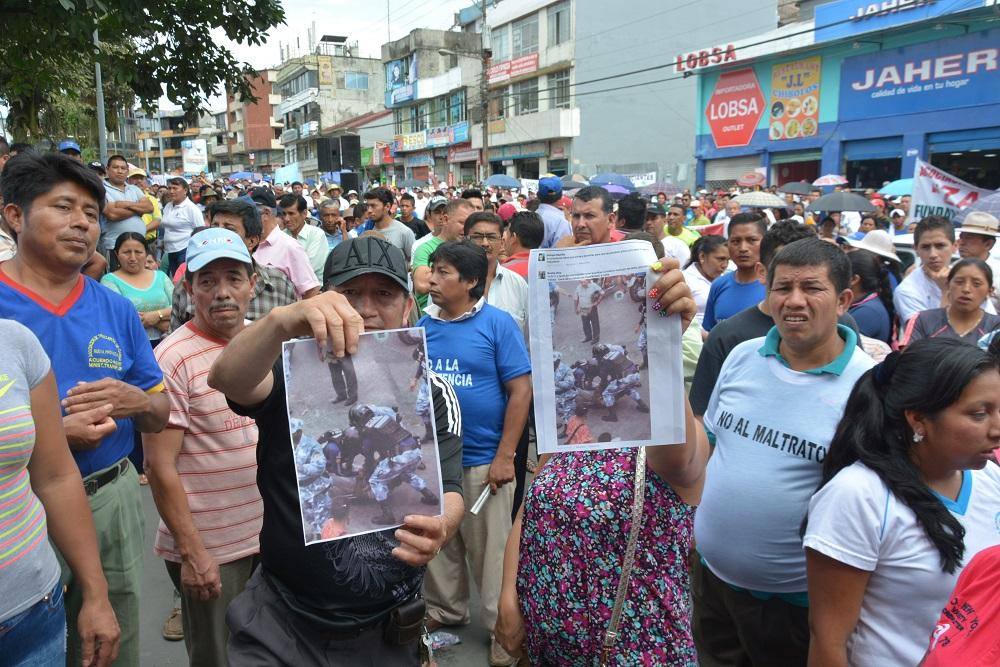Comerciantes de Santo Domingo se oponen a la reubicación