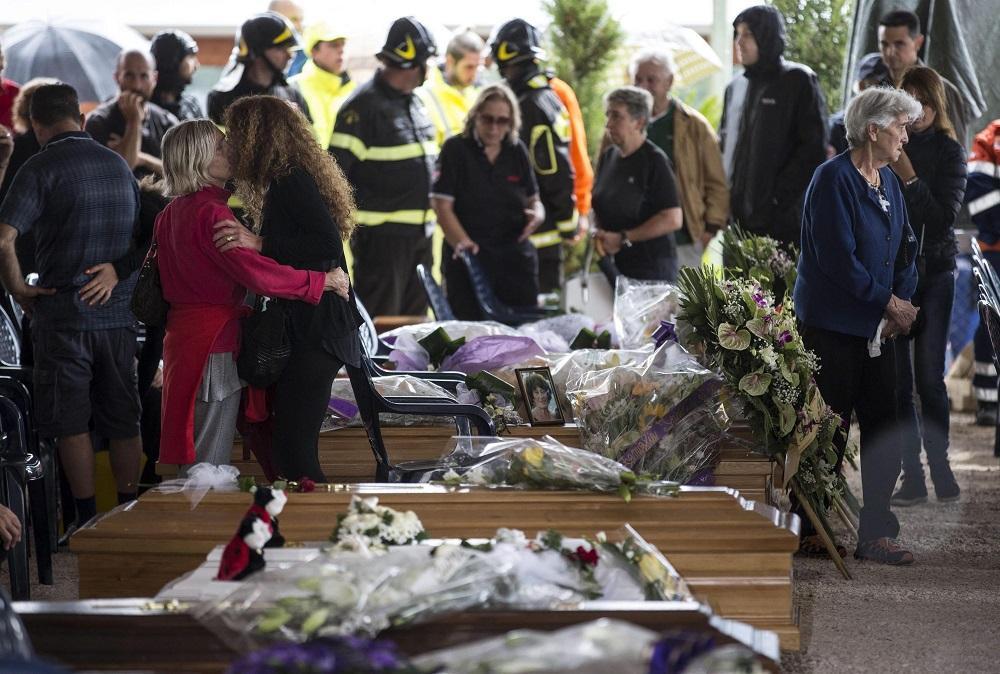 Amatrice despide hoy a sus 232 muertos con un funeral de Estado