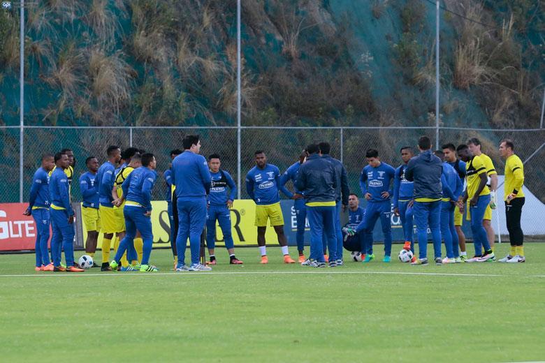 Cuatro jugadores quedaron fuera de la nómina para encuentro ante Brasil