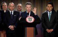 Santos anuncia pregunta sobre acuerdo de paz al firmar decreto de plebiscito