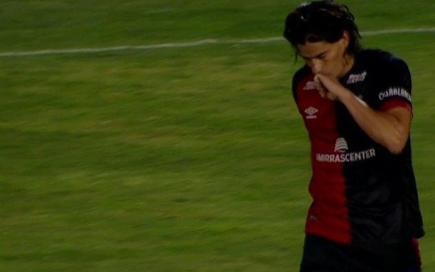 Blanco anota en su primer partido oficial con su nuevo equipo, el Colón de Santa Fe