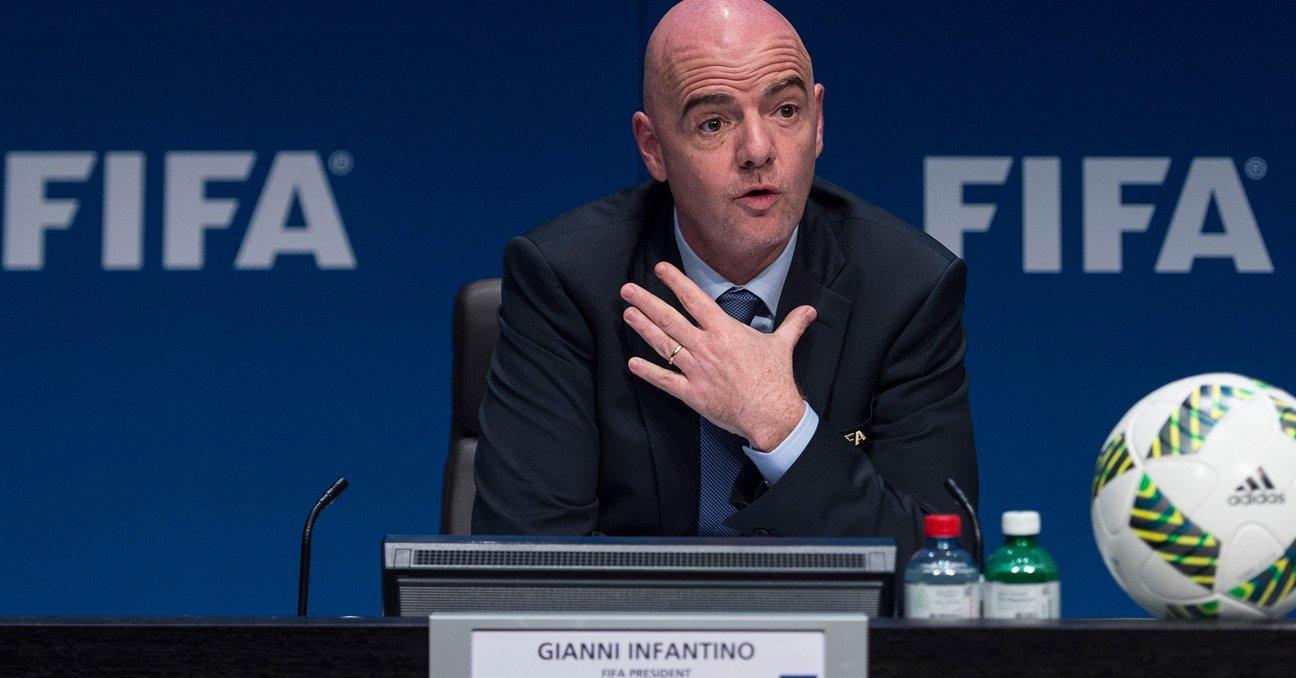 Infantino, presidente de la FIFA, ganará 1,69 millones de dólares al año