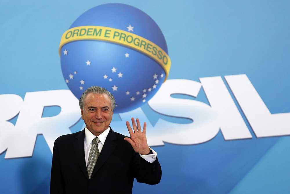 Michel Temer jura como nuevo presidente de Brasil tras la destitución de Rousseff