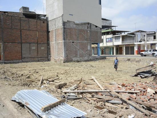 Ejecutado el 20% del dinero asignado para reconstrucción