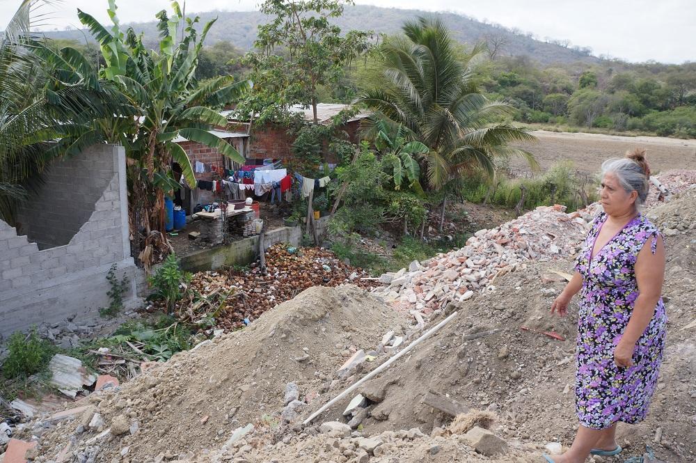 Escombrera general malestar a familias del sector El Forestal