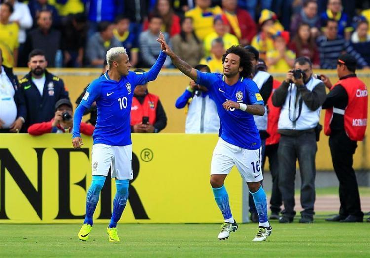 Brasil frena a Ecuador y Argentina es el nuevo líder de las eliminatorias