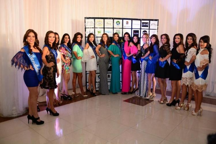 Presentan a las 16 candidatas a Reina de Portoviejo 2016