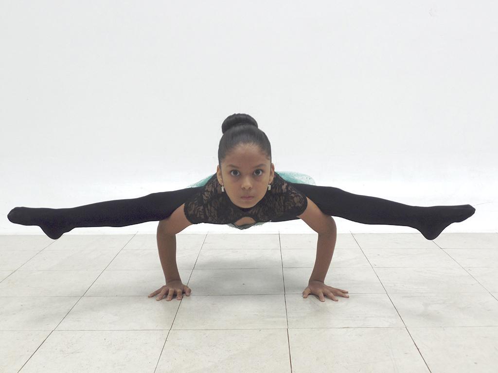 Niña manabita brilla en 'Ecuador tiene talento'