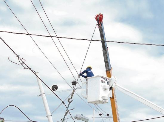 Los arreglos en electricidad cuestan $196 millones