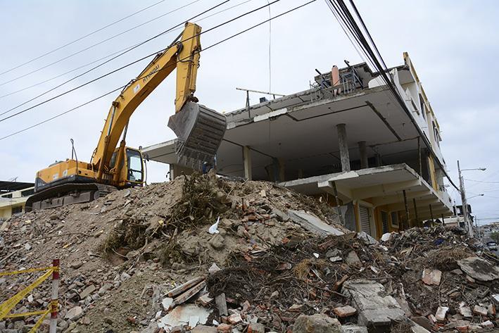 La demolición de una casa puede costar 330 dólares | El Diario Ecuador