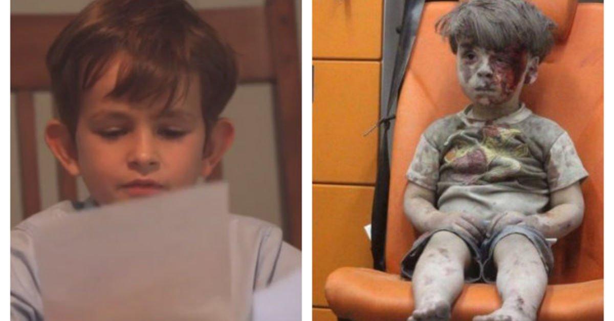 Niño le envía carta a Obama y se ofrece a acoger en su casa a niño sirio
