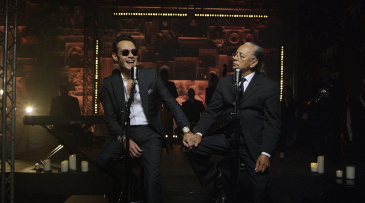 Marc Anthony y su padre lanzan su primera canción juntos