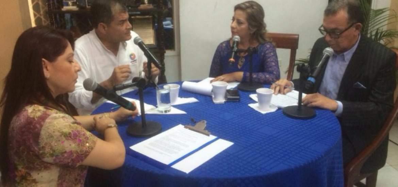 Renuncia del exministro Solís fue provocada por la concesión del puerto, según Correa