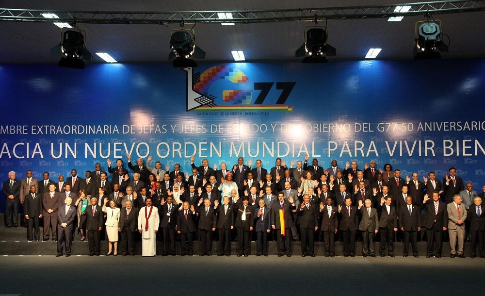 Ecuador asume la presidencia del Grupo de los 77 más China