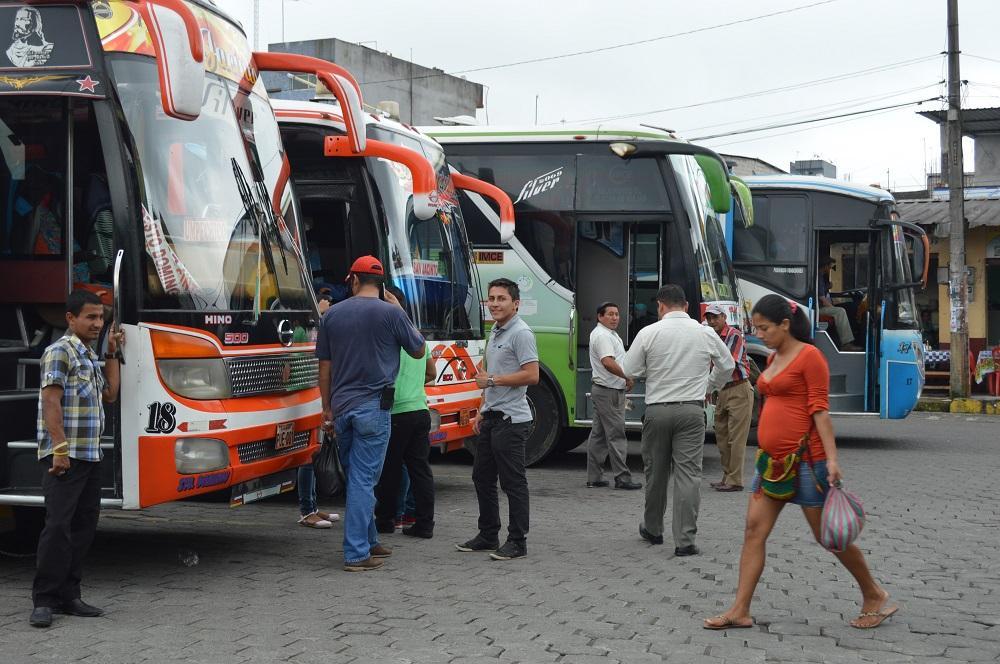 Cambio positivo en la miniterminal de Santo Domingo