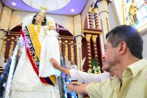 Devoción a la Virgen de la Merced se expresa en las calles de Portoviejo