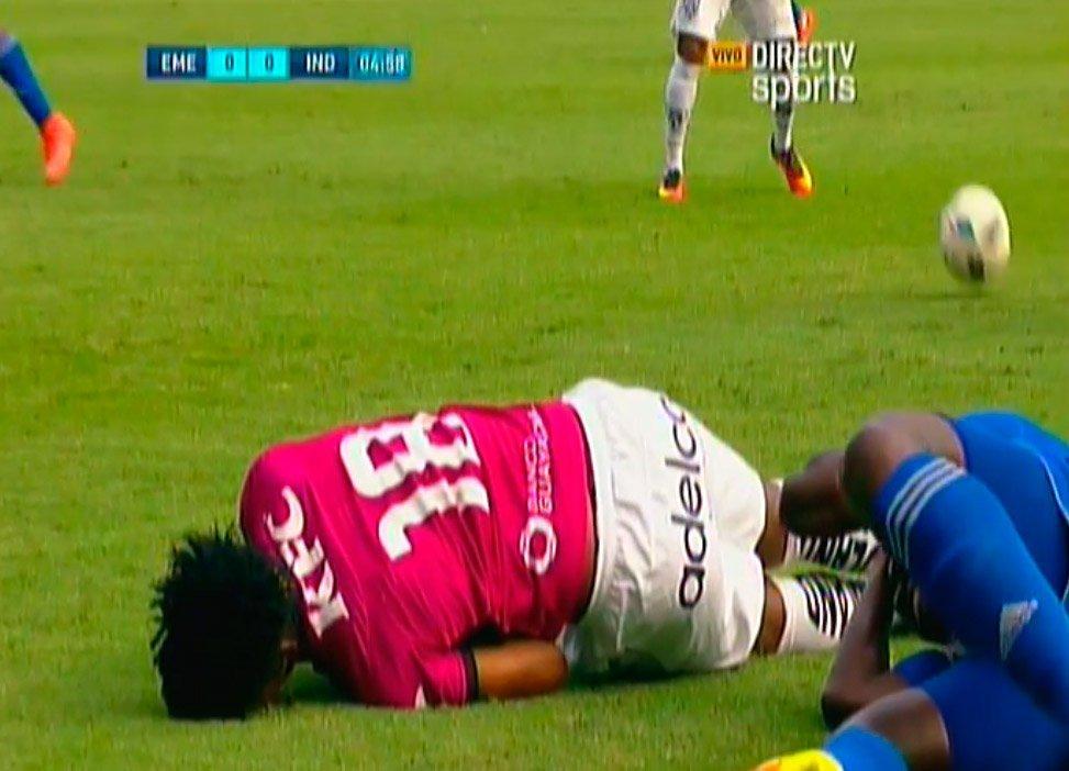 Así fue el terrible golpe que dejó inconsciente a Jefferson Orejuela